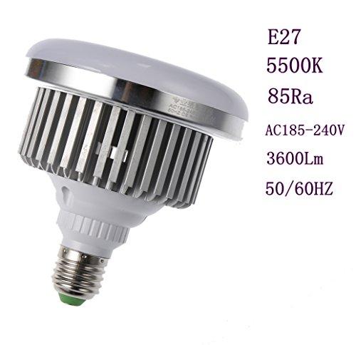 Professionelle Fotografie LED E27Leuchtmittel (65W, 5.500K), flimmerfrei, Softbox, für Foto Studio und Online Celebrity, für Portrait und Artikel zu Beleuchtung - 7