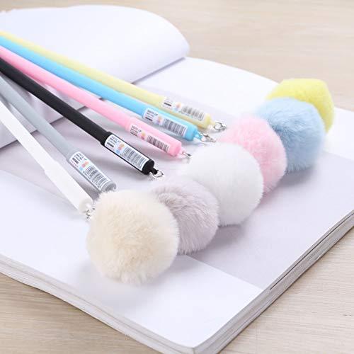 30 stücke Gel Stifte Licht haar birne blau farbe kawaii geschenk gel-tinte stifte stifte für schreiben Nette schreibwaren büro schule liefert