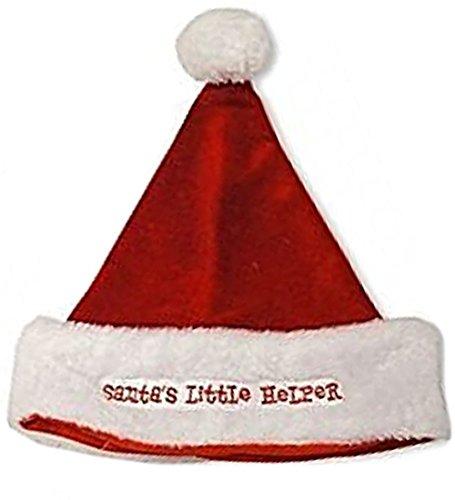adam & eesa Baby Jungen Mädchen Kinderzimmer Zeit Kleiner Nikolaus Weihnachten Mütze und (Up to 12 Months, Red Santa)
