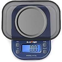 ACCUWEIGHT 255 Mini Balance de poche 0,01g de Precision Électronique Balance de Bijoux avec Écran LCD Rétroéclairé, Fonction de Tare, Comptage de PCS, 300g Maximum
