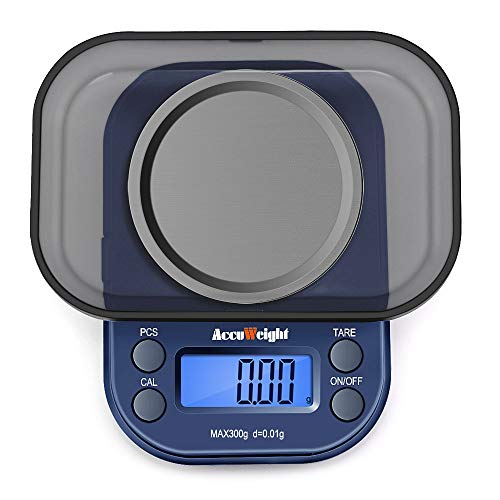 ACCUWEIGHT 255 Mini Báscula Precisión Digitale Joyería