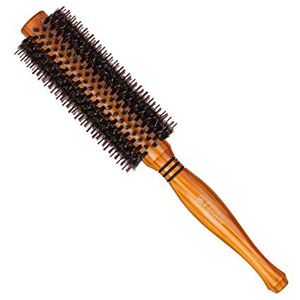 suprent-natural-boar-bristle-round-hair-brush-with-ergonomic-natural-wood-handle-2-inch-for-hair-dry