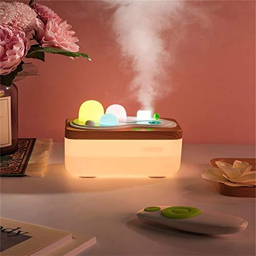 DZFDZ Aroma Essence Diffuser Control Remoto Lámpara de Fragancia Mini Iones Negativos Hogar purificador de Aceite Humidificador