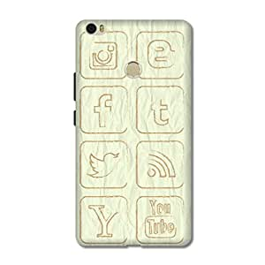 OVERSHADOW DESIGNER PRINTED BACK CASE COVER FOR XIAOMI MI MAX