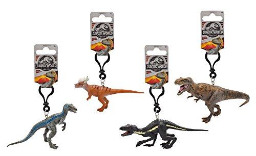 Jurassic World 791723d PVC Llavero - Dinosaurio de la película, 7-11 cm, modelos surtidos, 1 unidad