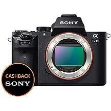 Sony Alpha 7M2 Fotocamera Digitale Mirrorless Full-Frame con Obiettivo Intercambiabile, Sensore CMOS Exmor Full-Frame da 24.3 MP, Stabilizzazione Integrata a 5 Assi, Nero