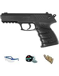 PACK pistola Gamo P27 dual de balines de plomo/acero y CO2 <3,5julios