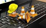 druck-shop24 Wunschmotiv: Website under construction with Laptop #117717325 - Bild auf Forex-Platte - 3:2-60 x 40 cm/40 x 60 cm