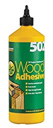 Everbuild Wood1 All Purpose Waterproof Wood Adhesive 502 1l