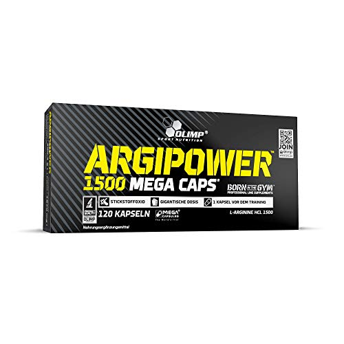 Olimp ArgiPower 1500 Mega Caps (120 Kapseln) (Lg 4g-fällen)