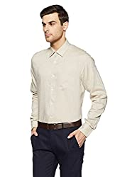 blackberrys Mens Formal Shirt (8907599255373_BP-Essence_40_Beige)