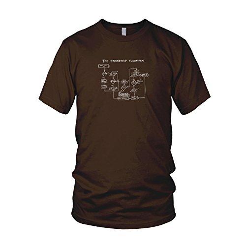 TBBT: The Friendship Algorithm - Herren T-Shirt Braun