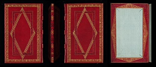 POSTER A3 New Zealand English binding, early 19th century Authors sometimes presented specially-bound books to wealthy patrons or to people of standing. A note on the front flyleaf of this