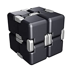 Infinity Cube Fidget Toys, HAND SPINNER® 360-degree Stereoscopic Finger Cube Depression Artifact Fidget Cube For Stress Relief