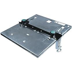 Wolfcraft 6197000 1 Table de Scie Sauteuse Galvanisée, Longueur 320 X Largeur 300 Mm avec butée Parallèle