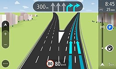 TomTom START 60 Central Europe Navigationsgerät (6 Zoll, Lifetime Maps, Fahrspurassistent, Tap & Go, Schnellsuche, Karten von 19 Ländern Europas)
