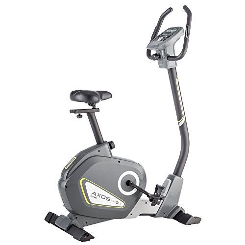 Kettler home exercise bike Axos Cycle P-LA.�Low access with 12�programmes and 16�levels�-�ideal home gym with training computer Hand pulse sensors���black & anthracite