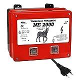 Eider NE 2000 Électrificateur de clôture Rouge