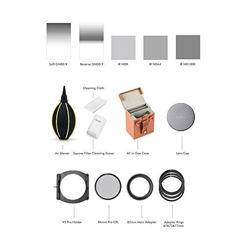 NiSi 100mm System V5-PRO Filter Holder Kit Second Generation (Advance Kit)