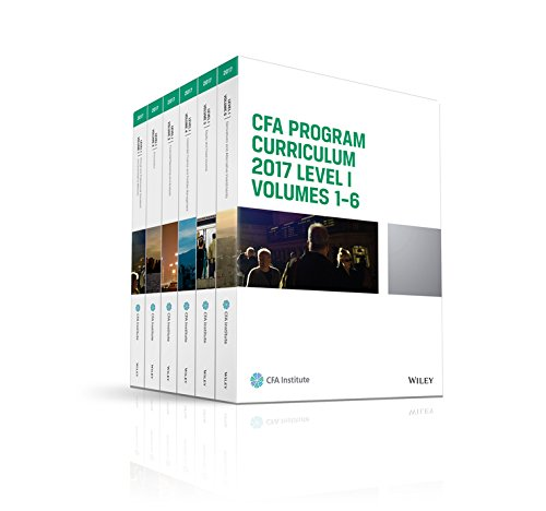 CFA Program Curriculum 2017, Level 1 (CFA Curriculum 2017) (Curriculum Program Cfa)