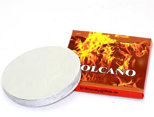 Preisvergleich Produktbild Hochwertige Shisha Alufolie - 100 Stück pro Packung - 12cm Durchmesser
