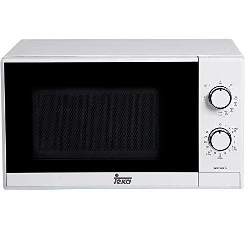Teka MW225G - Microondas con grill, 700W/1000W, 20 litros, color blanco y...
