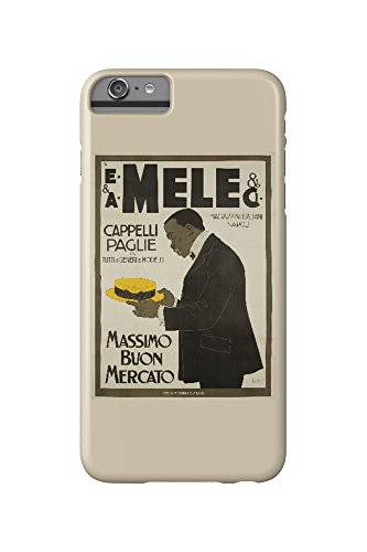 mele-and-ci-cappelli-paglie-vintage-poster-artist-laskoff-italy-c-1902-iphone-6-plus-cell-phone-case