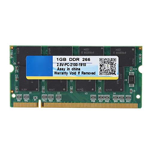 Tonysa 1G DDR 266 MHz Memory Stick RAM 200PIN 2,5 V Laptop Notebook-Speicher RAM-Modul für PC-2100 für Intel/AMD - Pc 2100 Laptop