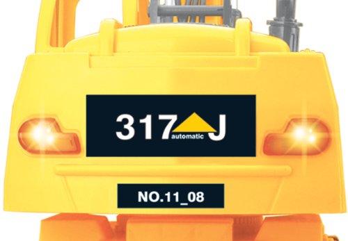 RC Auto kaufen Baufahrzeug Bild 6: Jamara 403790 - RC Bagger 317J 1:24 3 Kanal inklusive Fernsteuerung*