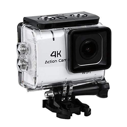 Action Cam Wasserdichtes Kamera mit Schnellspann-System und Daumenschraub für die GoPro Hero 4 und Hero3+ Action Cam - Unterwasser Fotografie Weiße Unterwasser System