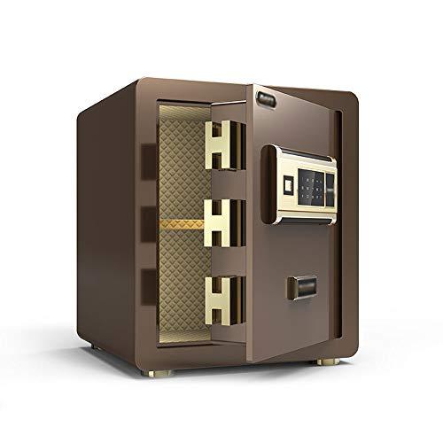 RKY Sicherheitsschrank, unsichtbarer intelligenter Fingerabdruck-Passwort-Diebstahl-Mini-Safe aus Stahl, geeignet für: Büro/Haushalt/Finanzen, 3 Farben erhältlich Schranksafes / - /