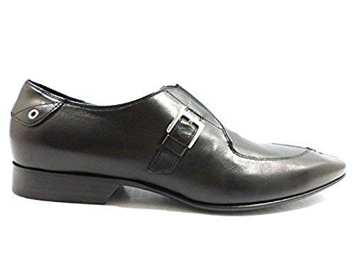 Scarpe uomo ALBERTO GUARDIANI 40,5 classiche nero pelle ZX497