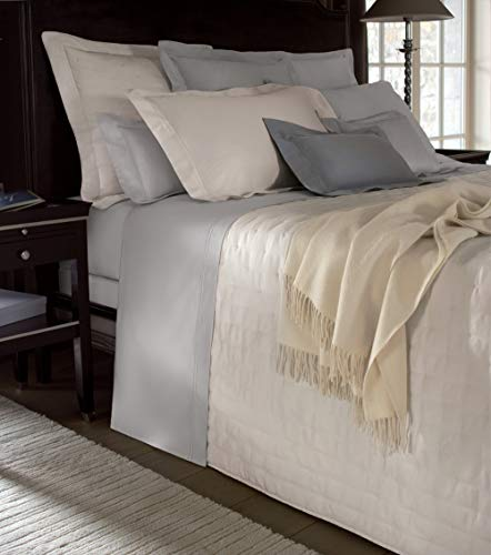 Yves Delorme * Triomphe Glace * Triomphe Glace Fitted Sheet, Double 135x190cm