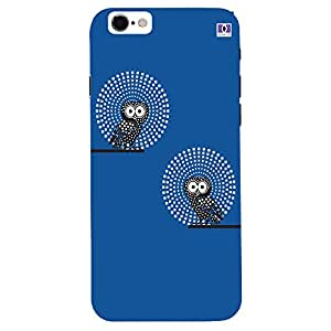 Owl Point Blue Design - Mobile Back Case Cover For Apple Iphone 7