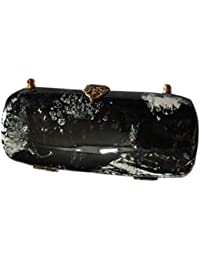 Azeem Enterprises Hand Clutches For Women-Black Hand Bag - B076HST11J