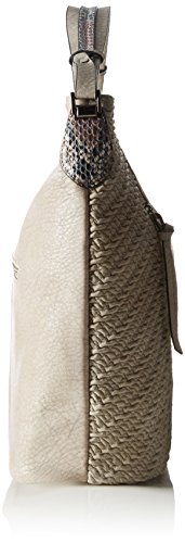 Betty Barclay Damen Bb-1112-Pz Schultertasche, 17x35x40 cm Beige (Taupe)