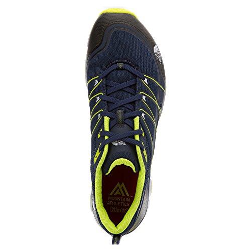 The North Face M Litewave Ampere, Chaussures de Sport Homme, Jaune Blu (Cosmcbl/Lntrngn)