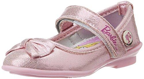 Barbie Girl's Pink Ballet Flats - 5 UK/India (22 EU)
