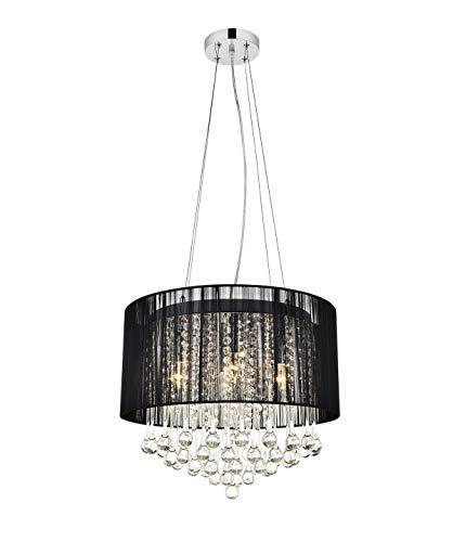 220-240V DXZMBDM Home Decorative 50W 4 Light Crystal Flush Mount Light
