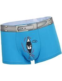 FITYLE Los Hombres De La Diversión Fun Bear Print Boxers Underwear Bulge Pouch Underpants Shorts