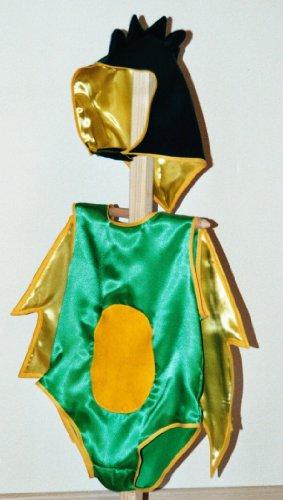 (Kostüm Drache Saurier für Kleinkinder, Gr. 98/104)