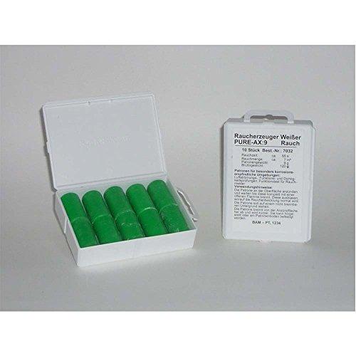 Rauchpatronen PURE AX-9 weiß 10 Stück