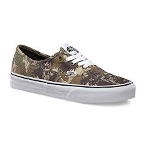 Vans U Authentic - Zapatillas unisex, color Camuflaje (Boba Fett Camo), talla 36