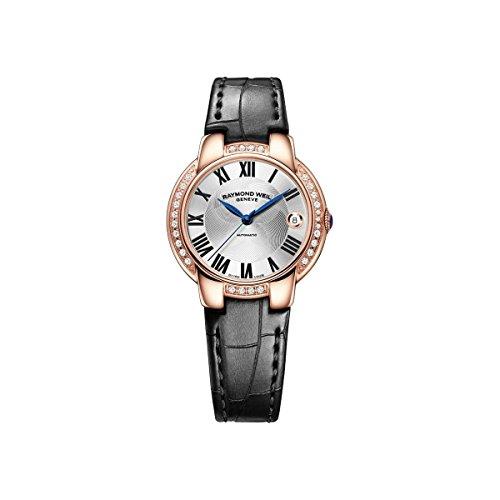 Raymond Weil - Reloj de pulsera mujer, piel, color negro