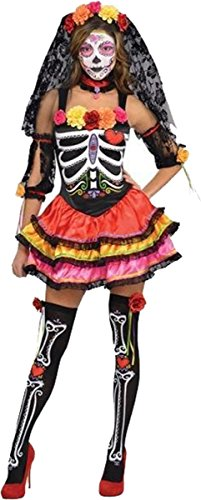 Day of the Dead Senorita - Adult Costume AMS LADY LAR (14-16)