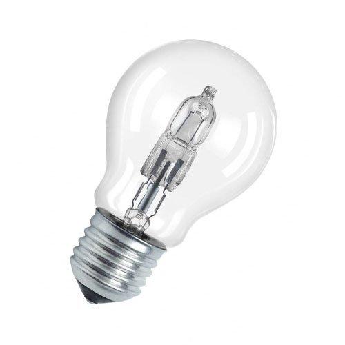 Osram Classic A Halogen-Lampe, E27-Sockel, dimmbar, 20 Watt - Ersatz für 25 Watt, Warmweiß - 2700K -