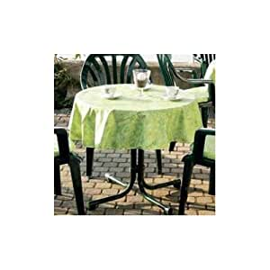 best 09830693 nappe de table ovale beige 210 x 160 cm jardin. Black Bedroom Furniture Sets. Home Design Ideas