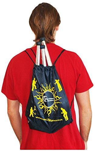 EURO PRO Juggling Clubs Set of 3  Red Blue Green  Metallic Deco Trainer Clubs   Flames N Games Travel Bag  Great Club Juggling Set For Beginners   Advanced Jugglers