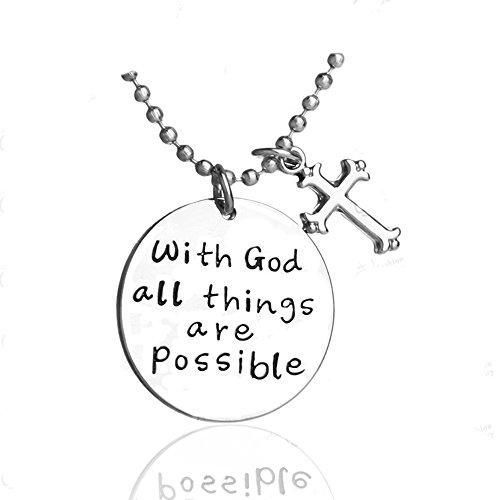 ierende Halskette Kreuz Anhänger für Frau Teen Mädchen in Gott Jewelry Prime Geschenk (Einfache Diy Paare Kostüme)