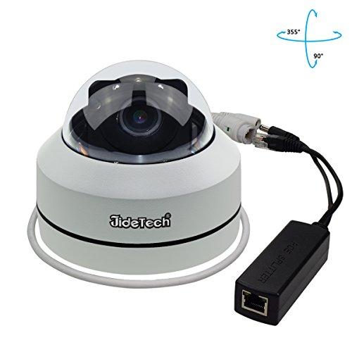 PTZ Kamera Outdoor POE Sicherheit IP Dome Kamera HD 1080 P mit 3X Optischer Zoom Pan / Tilt / 3X Motorisierte Zoom, Dome Style für Deckeninstallation